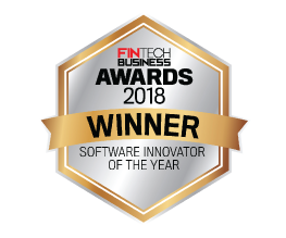 Award Seal; FinTech Business Awards 2018 Software Innovator of the Year