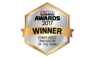 Award Seal; FinTech Business Awards 2017 Compliance Innovator of the Year