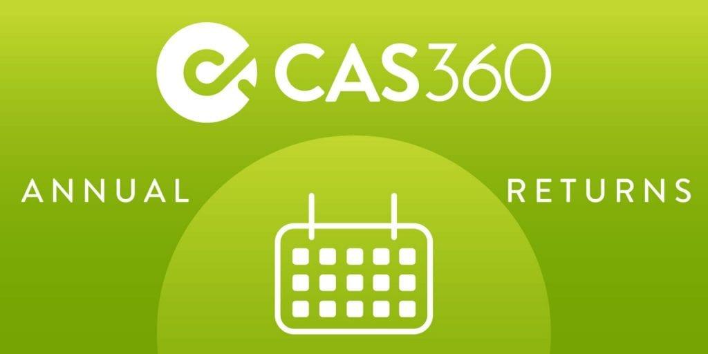 CAS 360 Annual Return Process